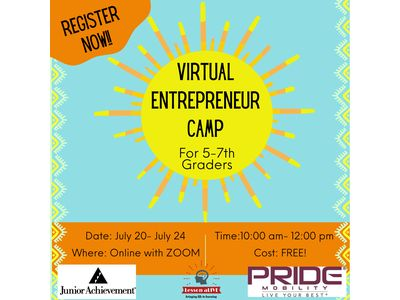 View the details for Virtual Entrepreneur Camp