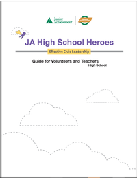 JA High School Heroes curriculum cover
