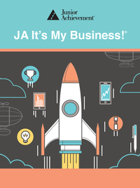 JA It's My Business! Blended Model curriculum cover